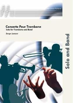 Serge Lancen - Trombone Concerto - Partition - di-arezzo.co.uk