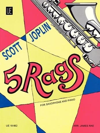 Scott Joplin - 5 trapos - Partition - di-arezzo.es
