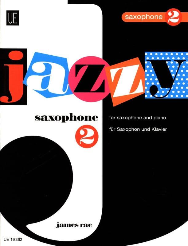 Jazzy Saxophone 2 for Young Players - James Rae - laflutedepan.com