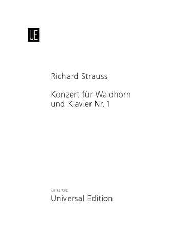 Richard Strauss - Concierto n.º 1 en mi bemol mayor, Opus 11 - Partition - di-arezzo.es