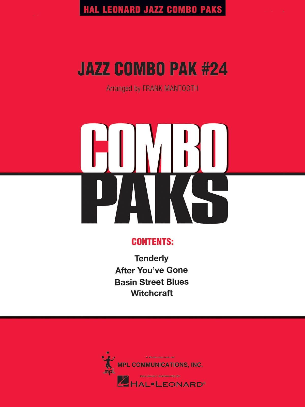 Jazz Combo Pak # 24 - Partition - ENSEMBLES - laflutedepan.com