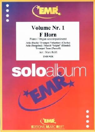 Solo Album Volume 1 Fa - Partition - Cor - laflutedepan.com
