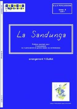 La Sandunga - Yannick Guillot - Partition - laflutedepan.com