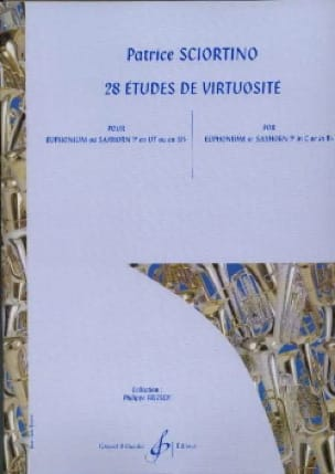 Patrice Sciortino - 28 Virtuosity Studies - Partition - di-arezzo.co.uk