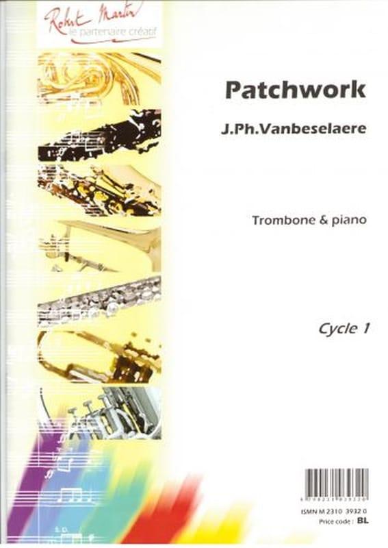 Patchwork - Jean-Philippe Vanbeselaere - Partition - laflutedepan.com
