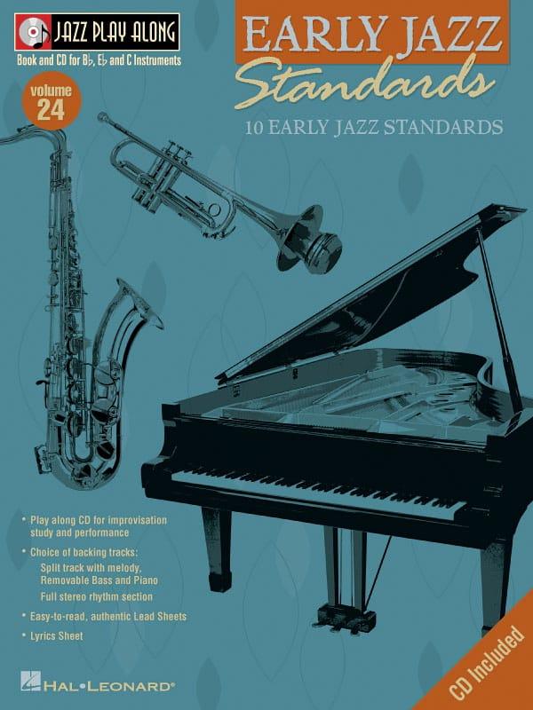Jazz play-along volume 24 - Early Jazz Standards - laflutedepan.com