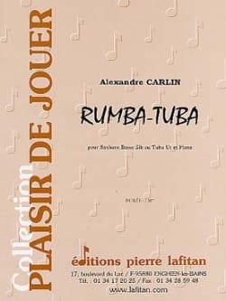 Rumba-tuba - Alexandre Carlin - Partition - Tuba - laflutedepan.com