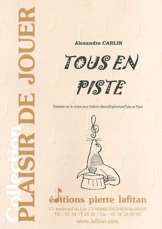 Tous en piste - Alexandre Carlin - Partition - Tuba - laflutedepan.com