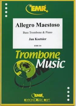 Allegro Maestoso - Jan Koetsier - Partition - laflutedepan.com