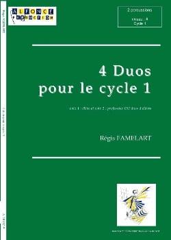 Régis Famelart - Four Duos for Cycle 1 - Partition - di-arezzo.co.uk