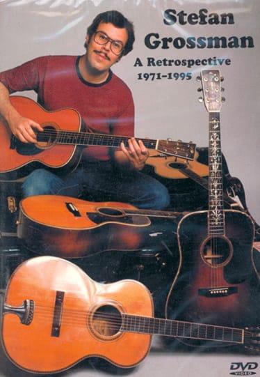 DVD - A Retrospective 1971-1995 - Stefan Grossman - laflutedepan.com