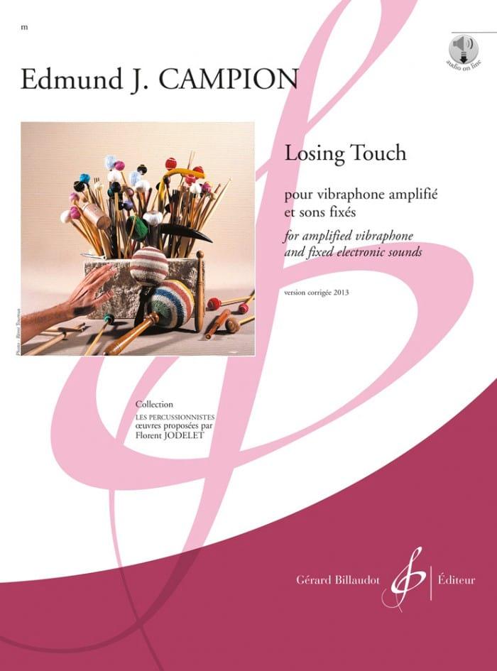 Losing touch - Edmond J. Campion - Partition - laflutedepan.com