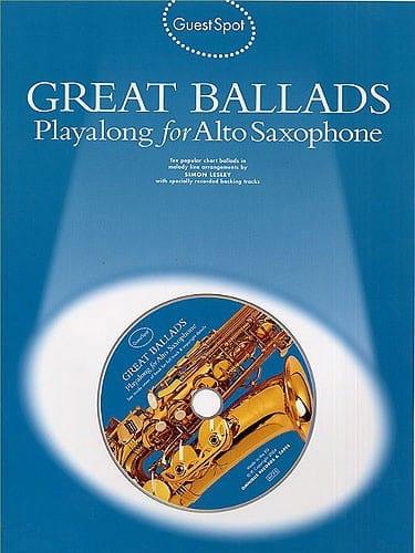 Guest Spot - Great Ballads Playalong For Alto Saxophone - laflutedepan.com