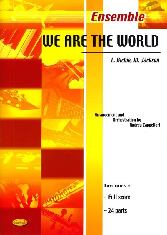 We Are The World - Richie Lionel / Jackson Michael - laflutedepan.com