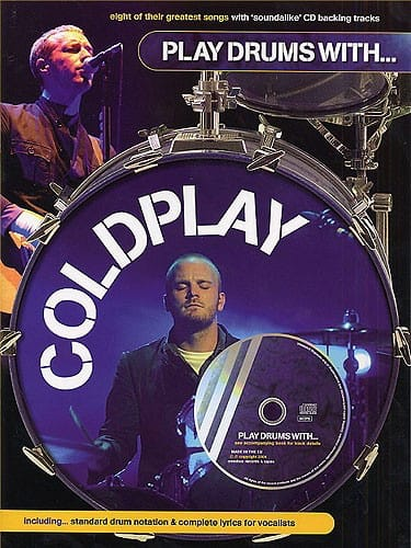 Coldplay - Play Drums With ... - Partition - di-arezzo.co.uk