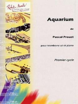 Aquarium - Pascal Proust - Partition - Trombone - laflutedepan.com