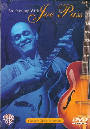 DVD - An Evening With Joe Pass - Joe Pass - laflutedepan.com