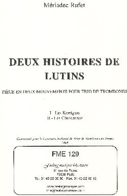 Deux Histoires de Lutins - Les Korrigans / les Cluricaunes - laflutedepan.com