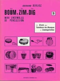 Boum, Zim, Dig. 12 Duos Volume B - BERLIOZ - laflutedepan.com