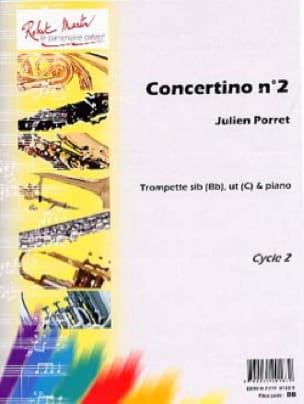 Julien Porret - Concertino N ° 2 - Partition - di-arezzo.com