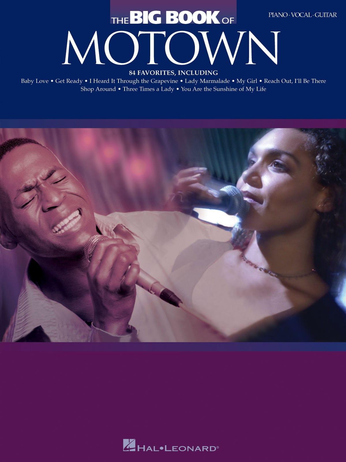 The Big Book Of Motown - Partition - Pop / Rock - laflutedepan.com