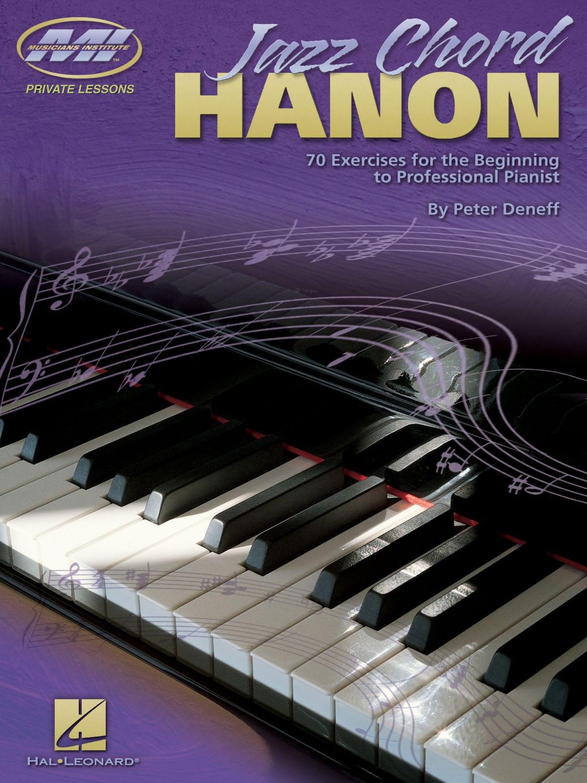 Jazz Chord Hanon - Peter Deneff - Partition - Jazz - laflutedepan.com