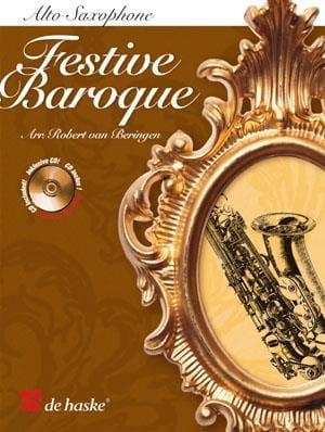 Festive Baroque - Partition - Saxophone - laflutedepan.com