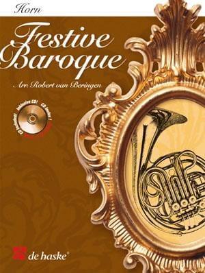 Festive Baroque - Partition - Cor - laflutedepan.com
