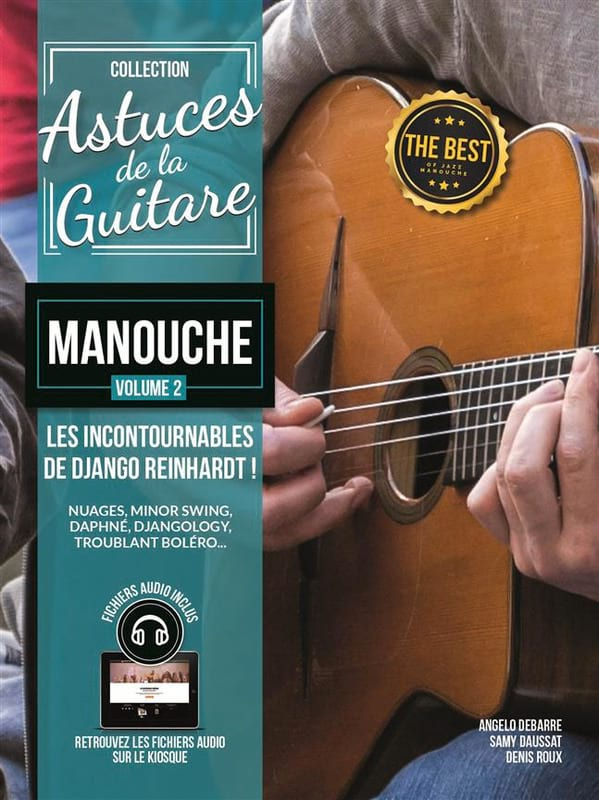 COUP DE POUCE - Gipsy guitar tips - Volume 2 - Partition - di-arezzo.com
