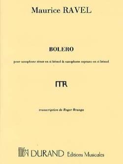 Maurice Ravel - Bolero - Partition - di-arezzo.com