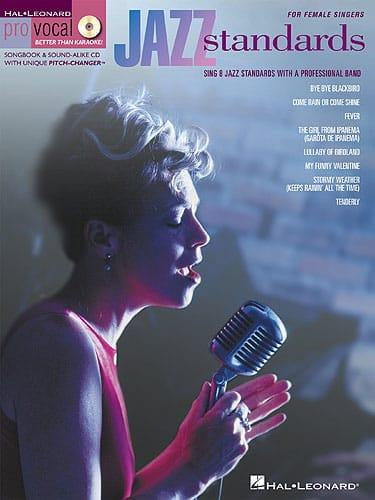 - Pro Vocal Women's Volume 2 Edition - Jazz Standards - Partition - di-arezzo.co.uk