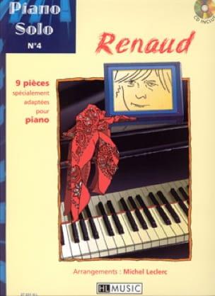 RENAUD - Piano Solo N ° 4 - 9 pieces specially adapted for piano - Partition - di-arezzo.com