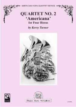 Kerry Turner - Quartet N ° 2 Americana - Partition - di-arezzo.co.uk