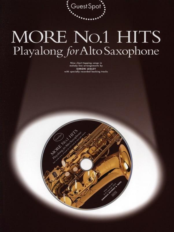 Guest Spot - More N° 1 Hits Playalong For Alto Saxophone - laflutedepan.com