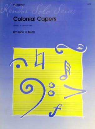 John Beck - Colonial Capers - Partition - di-arezzo.com