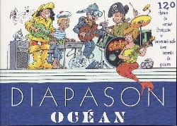 Diapason océan - Partition - Chanson française - laflutedepan.com