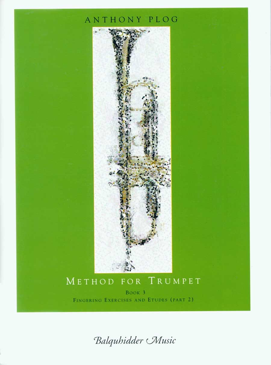 Anthony Plog - Method for trumpet book 3 - Partition - di-arezzo.co.uk