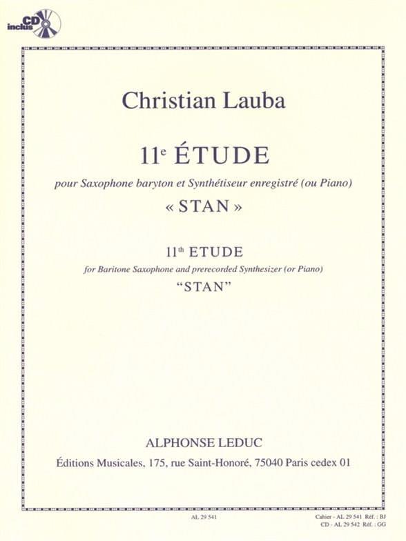 Christian Lauba - 11th Stan Study - Partition - di-arezzo.com