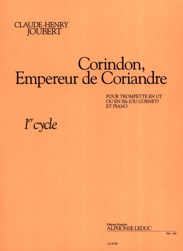Claude-Henry Joubert - Corundum, Emperor of Coriander - Partition - di-arezzo.co.uk