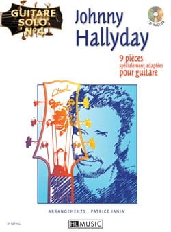 Johnny Hallyday - Solo Guitar N ° 4 - 9 Partes especialmente adaptadas para guitarra - Partition - di-arezzo.es