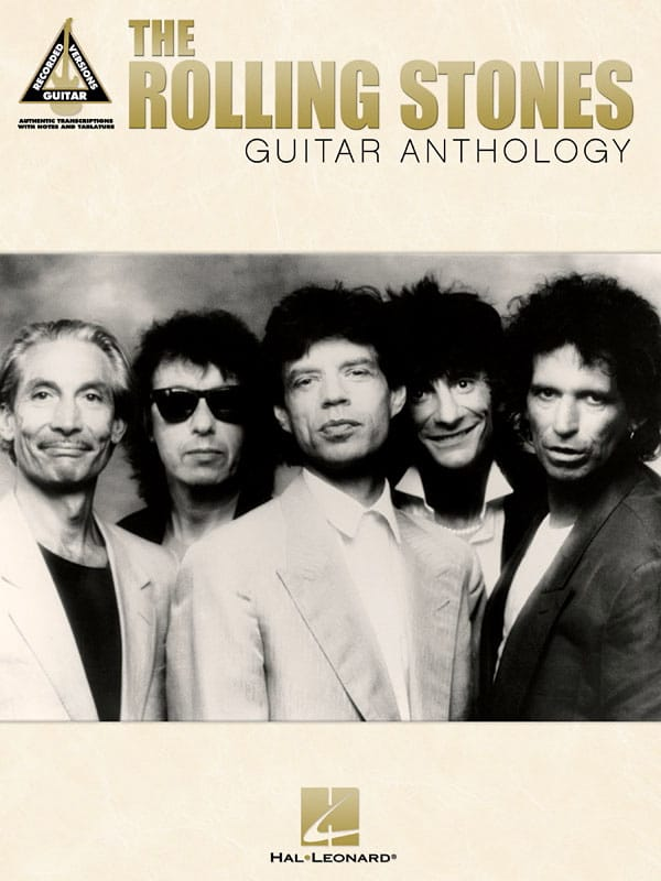 ROLLING STONES - The Rolling Stones Guitar Anthology - Partition - di-arezzo.co.uk