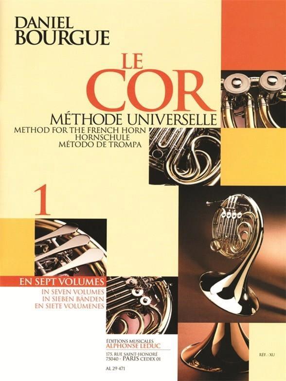 Daniel Bourgue - The Cor Universal Method Volume 1 - Partition - di-arezzo.com