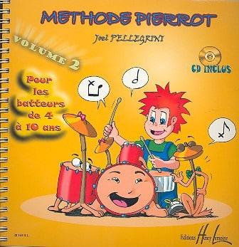 Joël Pellegrini - Método de Batería Pierrot Volumen 2 - Partition - di-arezzo.es