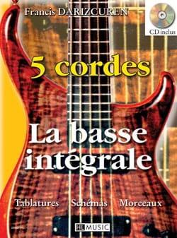 La Basse Intégrale 5 Cordes - Francis Darizcuren - laflutedepan.com