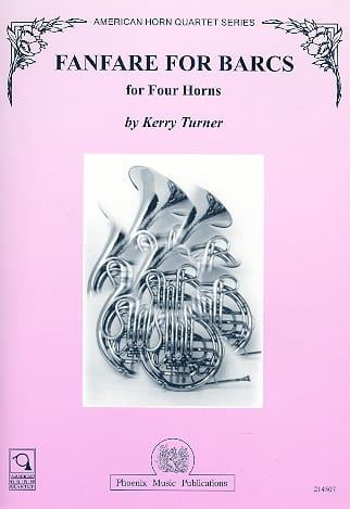 Kerry Turner - Fanfare For Barcs - Partition - di-arezzo.co.uk