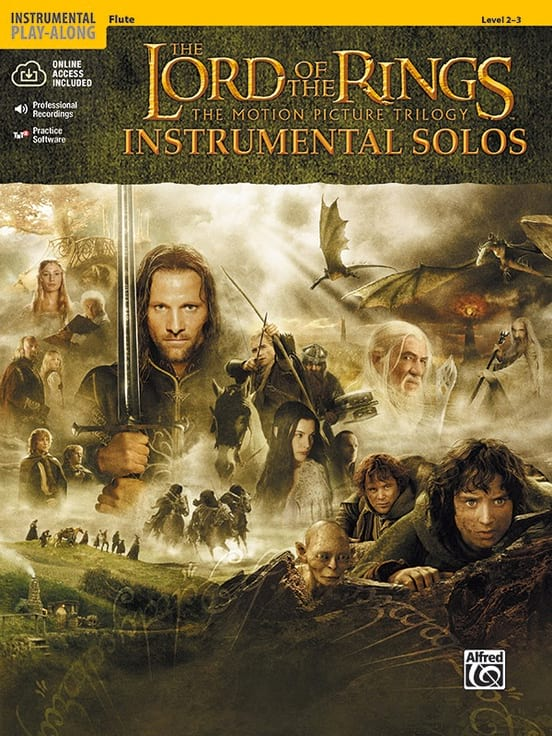 Howard Shore - The Lord of the Rings - Instrumental Solos - Partition - di-arezzo.com