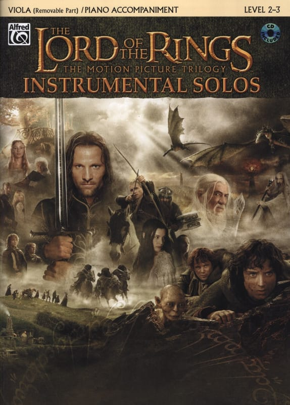 Howard Shore - The Lord of the Rings - Instrumental Solos - Partition - di-arezzo.co.uk
