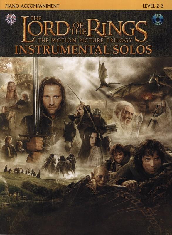 Howard Shore - El señor de los anillos - Solos instrumentales - Partition - di-arezzo.es