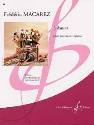 3 Danses - Frédéric Macarez - Partition - laflutedepan.com