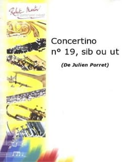 Julien Porret - Concertino N ° 19 - Partition - di-arezzo.com